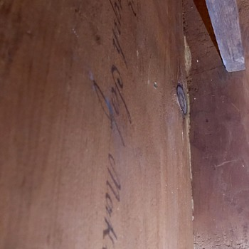 Maker signature? - Furniture