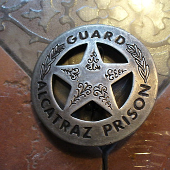 Alacatraz Guard Badge - Medals Pins and Badges