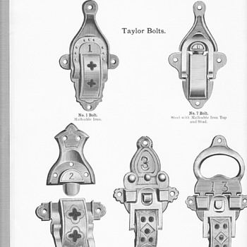 Additional Trunk hardware from the 1915 JH Sessions Catalog - Furniture