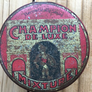 Wondering if anyone knows how old this tin is ???? - Tobacciana
