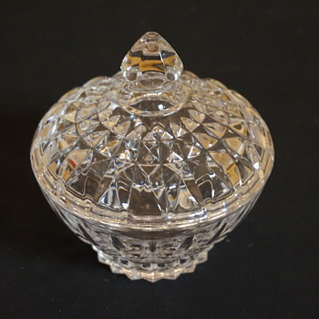 Small Glass Candy Dish