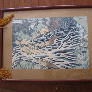 Japanese print Hokusai? - Asian