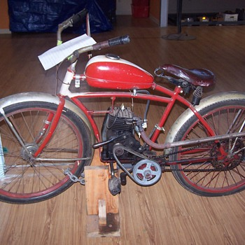 WWII Motorized Bicycle