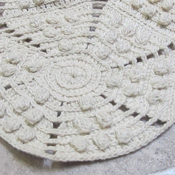 Old Embroidered Blanket  - Rugs and Textiles