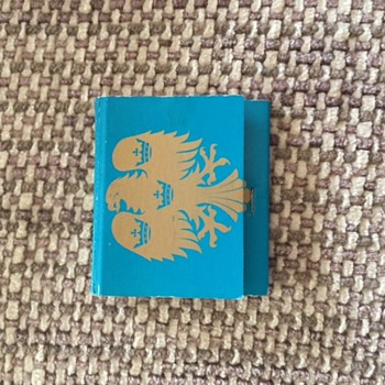 Barclays Matchbook - Tobacciana