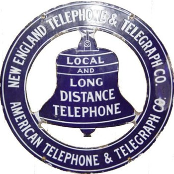 New England Telephone and Telegraph Co. Peace Sign - Signs