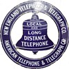 New England Telephone and Telegraph Co. Peace Sign