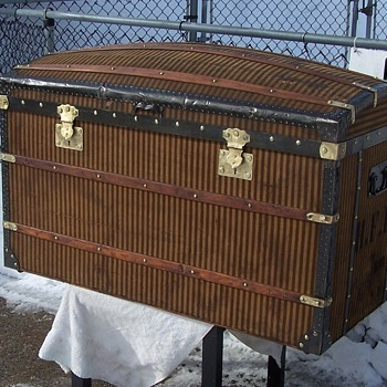 Huge French Trunk - Furniture