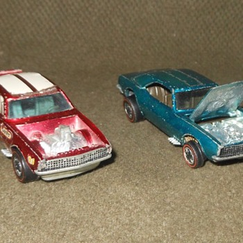 Hot Wheels Wednesday Special 50th Anniversary Edition Custon Camaro and Heavy Chevy - Model Cars
