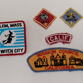 Boy Scout Patches  - Medals Pins and Badges
