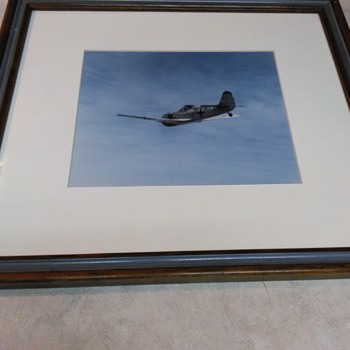 VINTAGE GERMAN PLANE PHOTO - Military and Wartime