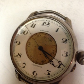 Wittnauer Longines super size wrist watch