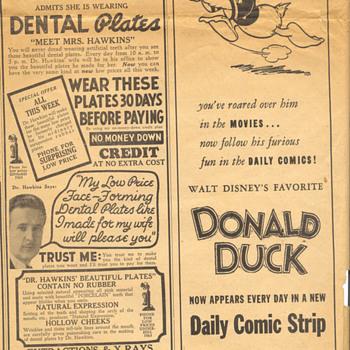 donald duck - Advertising