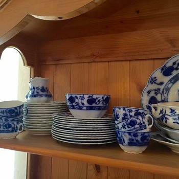 Johnson Bros Holland Flow Blue - China and Dinnerware