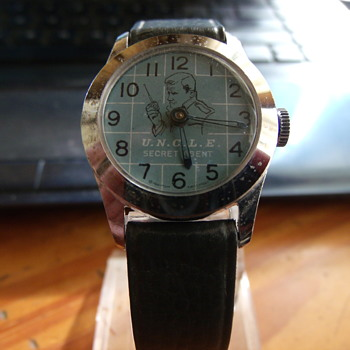 1966 Man from U.N.C.L.E. wristwatch - Wristwatches