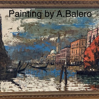 A. Bolero Painting...in Venice - Fine Art