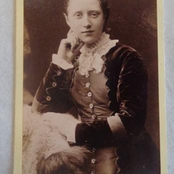 CDV Photo Male or Female? John Fergus Largs