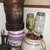ANTIQUE ENGLISH FIRE WATER BUCKET