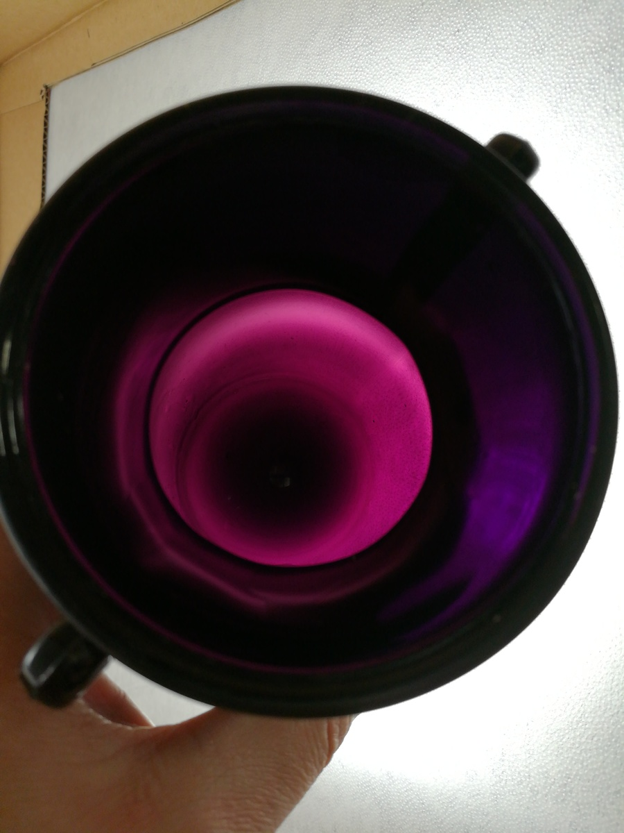 Le smith black amethyst depression glass vase collectors weekly reviewsmspy