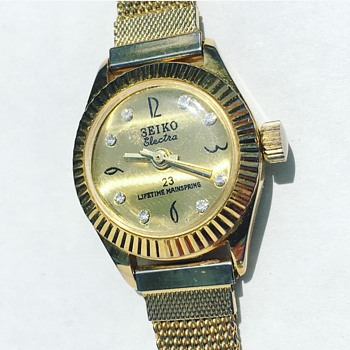 Vintage SEIKO Electra Wrist Watch - Wristwatches
