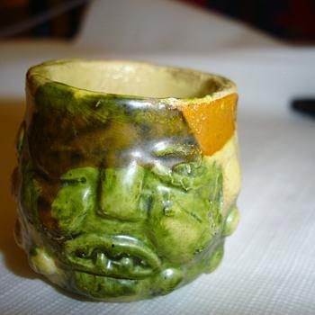 Ugly Face Miniature Grotesque Mug - Pottery
