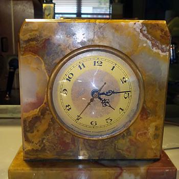Whitehall-Hammond Agate Clock 1928-31 - Clocks