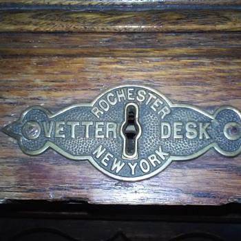 Dad's desk