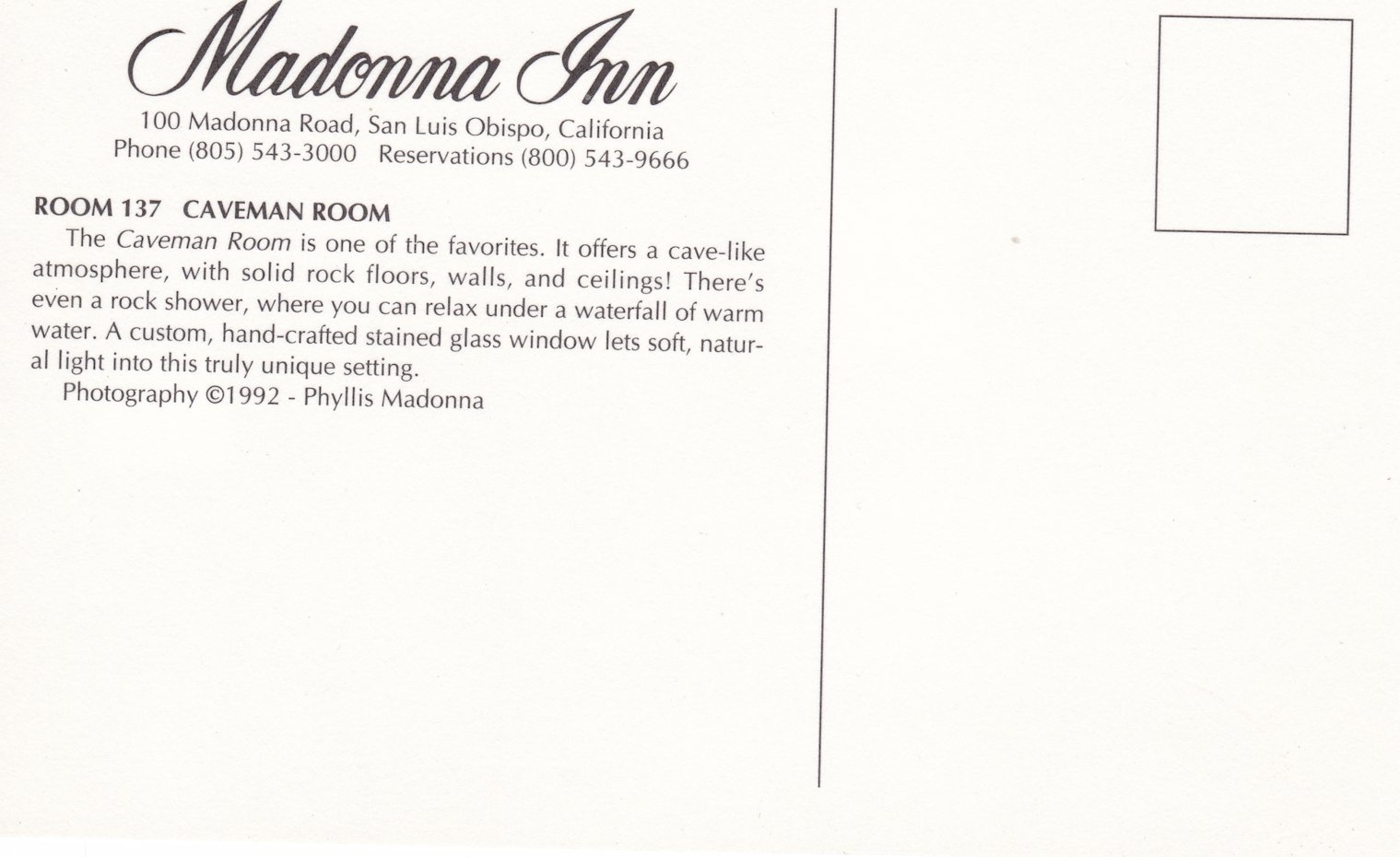 Madonna Inn Postcards The Men S Room And The Caveman Room Collectors Weekly