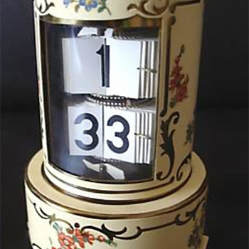 Flip Leaf Ticket Clock, Germany, 1952. - Clocks