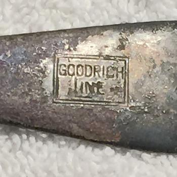 S.S. Iowa - Chicago Shipwreck Artifact 1915 Spoon  - Silver