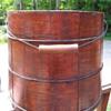 Primitive Lidded Bucket