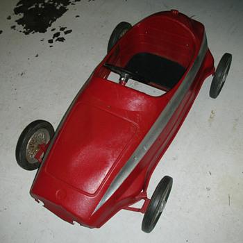Pedal car, Ferrari? - Model Cars