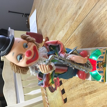 Vintage musical clown toy - Toys