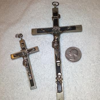 silver (tone?) crucifixes - Fine Jewelry