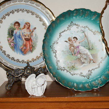 Unmarked Bowl and Plate  - China and Dinnerware