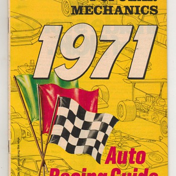 1971 - Auto Racing Guide - Part 1 - Classic Cars