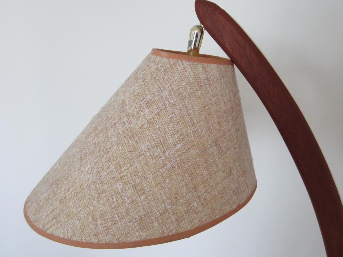 Danish teak floor lamp collectors weekly aloadofball Image collections