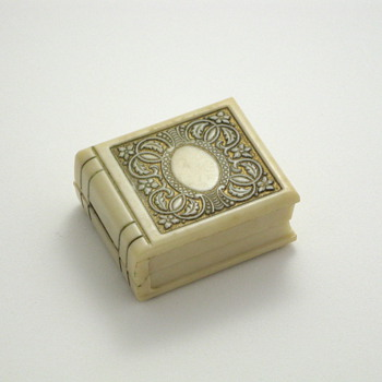 Ivory Book Ring Box - Fine Jewelry