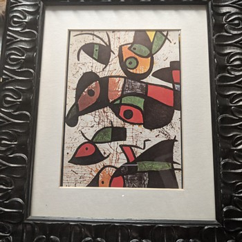 """Joan Miró """"Personnages Oiseaux""""  - Posters and Prints"""