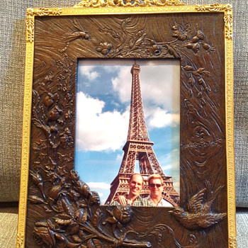 Pair of 19th Century French Bronze Picture Frames  - Victorian Era