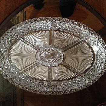 Oval Relish Platter