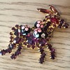 """D & E PACK MULE with """"sugar beads""""!"""