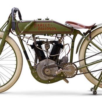 Hot Wheels 1920 Harley Davidson Board Track Racer - Model Cars