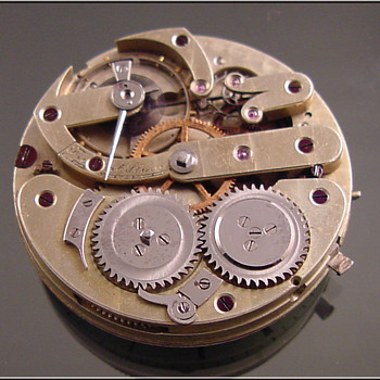 Unkown Swiss Pocket Watch Movement - Pocket Watches
