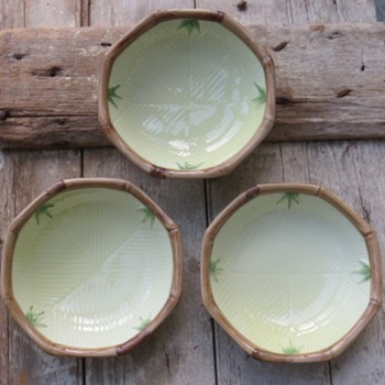 Asian Bamboo Bowls - Pottery