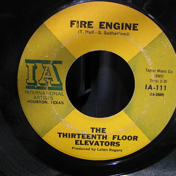 Thirteenth Floor Elevators - Records