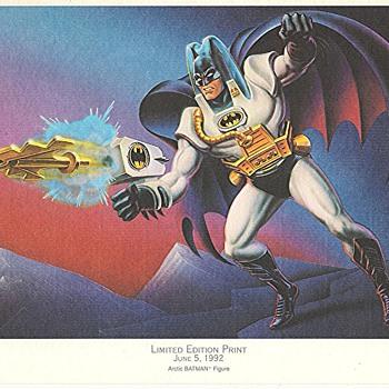 Limited Edition BATMAN PRINTS June5, 1992