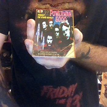 POWERMAN 5000 Metal Band Trading Cards