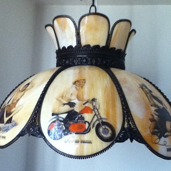 My Nude Ladies Tiffany Lamp - Lamps
