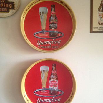 Yuengling Beer Tray - Breweriana
